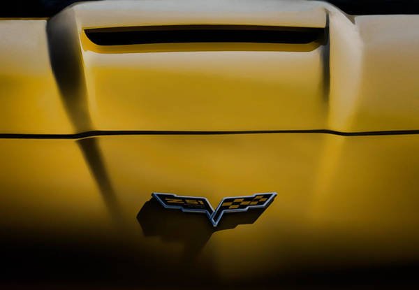Chevy Corvette Wall Art - Digital Art - Study In Yellow by Douglas Pittman