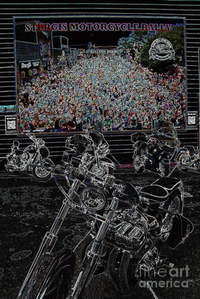 Photograph - Stugis Motorcycle Rally by Anthony Wilkening