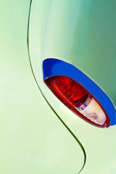 Green Car Photograph - Stylin' by Rebecca Cozart