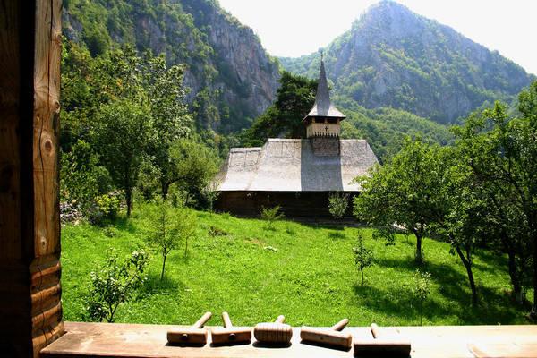 Photograph - Sub Piatra Monastery by Emanuel Tanjala