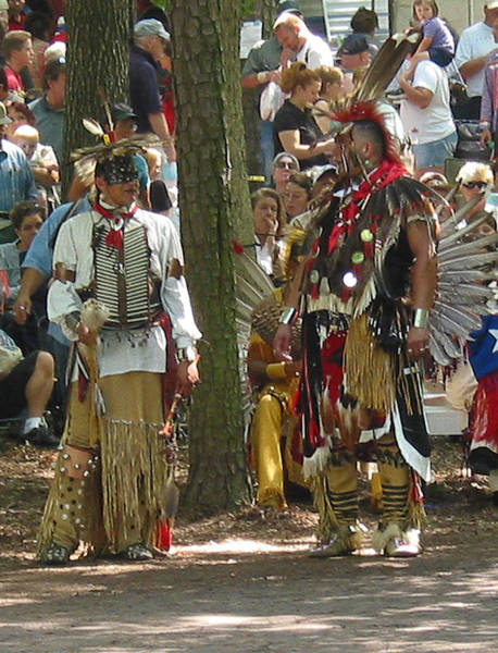Photograph - Subchiefs At Pow Wow by Emery Graham