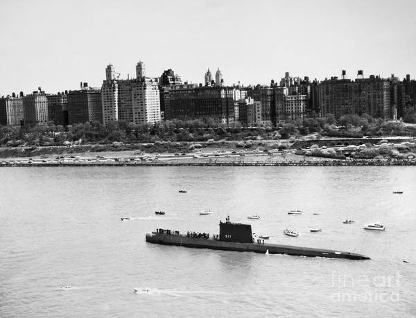 Photograph - Submarine: Uss Nautilus by Granger