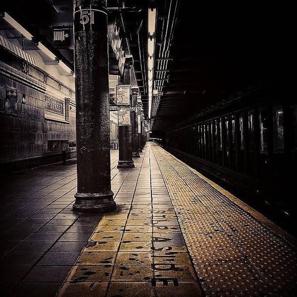 Wall Art - Photograph - Subway Tube - Ny by Joel Lopez