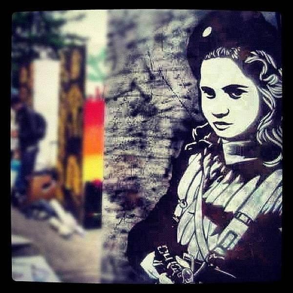 Guns Photograph - #subwayart #graffitiart #art #canart by Nigel Brown