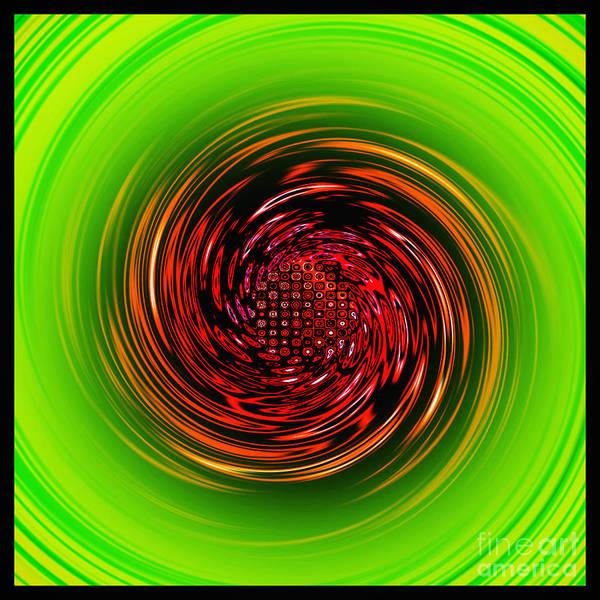 Fading Digital Art - Sucked In... by Kaye Menner