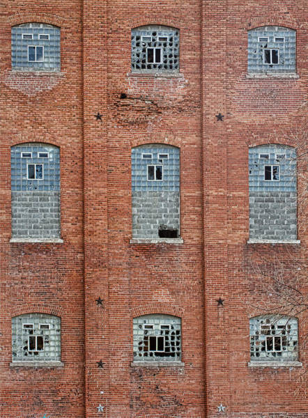 Photograph - Sugar Mill Broken Windows by James BO Insogna