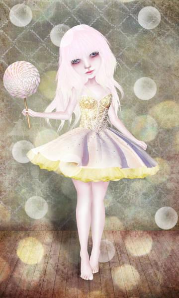 Wall Art - Digital Art - Sugarplum Fairy by Jessica Von Braun