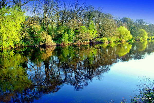 Suir Photograph - Suir Reflections by Joe Ormonde