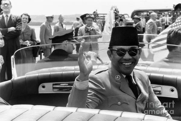 Photograph - Sukarno (1901-1970) by Granger