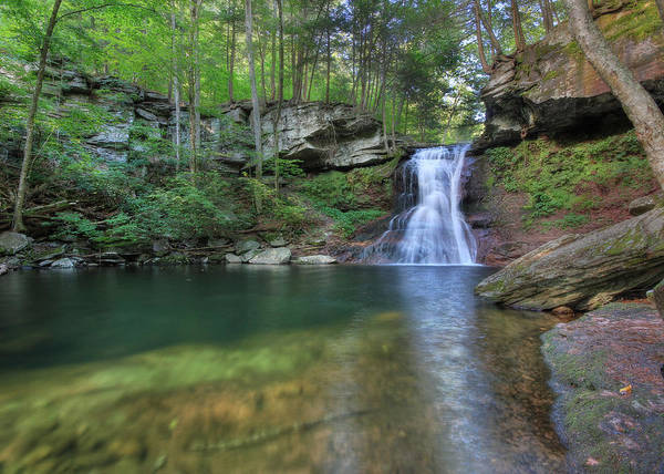 Sullivan County Photograph - Sullivan Falls by Lori Deiter