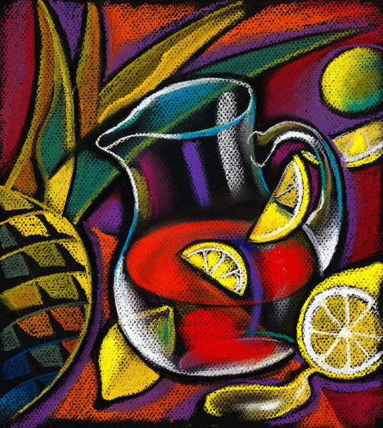 Food Groups Painting - Summer Drink by Leon Zernitsky