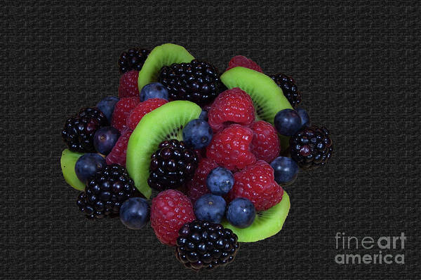 Photograph - Summer Fruit Medley by Michael Waters