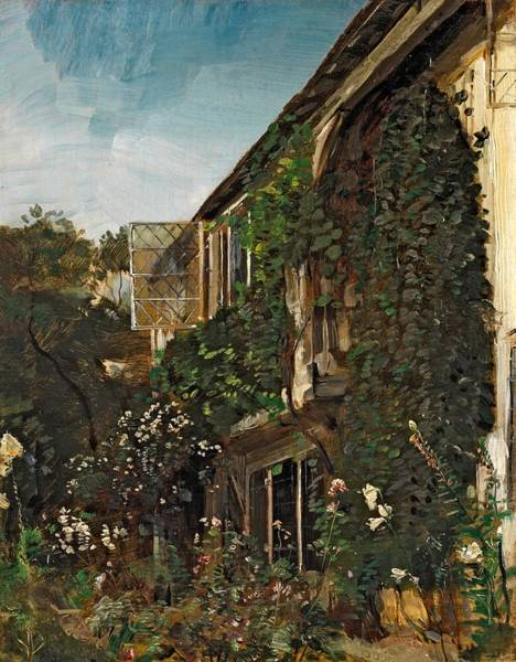 1834 Wall Art - Painting - Summer Garden by HM Anthony
