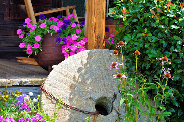 Wall Art - Photograph - Summer Millstone by Jan Amiss Photography