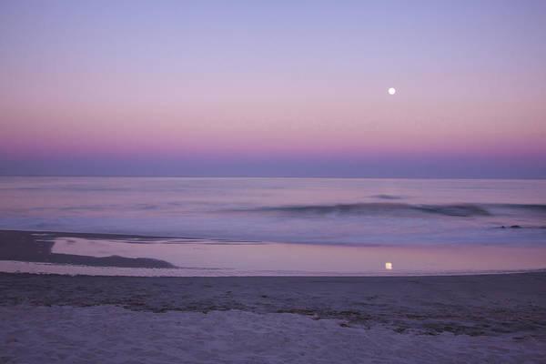 Photograph - Summer Moonrise by Tom Singleton