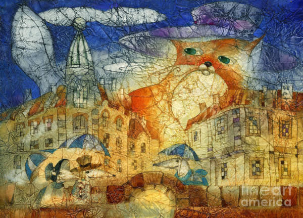 Wall Art - Mixed Media - Summer Night by Svetlana and Sabir Gadghievs