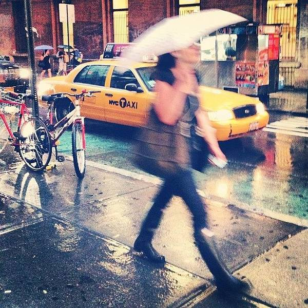 City Scenes Wall Art - Photograph - Summer Rain by Randy Lemoine
