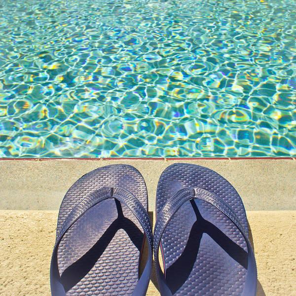 Flip Flops Photograph - Summer Sandals by Tom Gowanlock