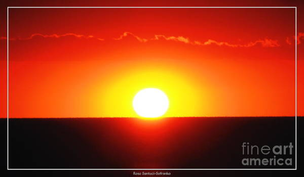 Photograph - Summer Sunset Over Lake Erie 2 by Rose Santuci-Sofranko