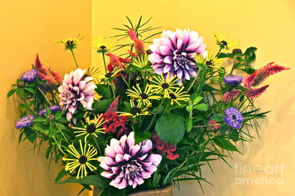 Photograph - Summer To Autumn Bouquet by Byron Varvarigos
