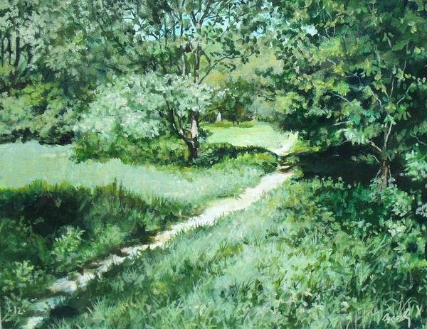 Painting - Summer Walk by William Brody
