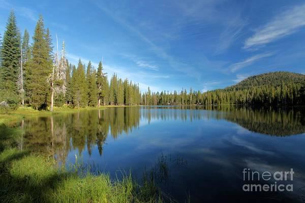 Photograph - Summit Lake Blues by Adam Jewell