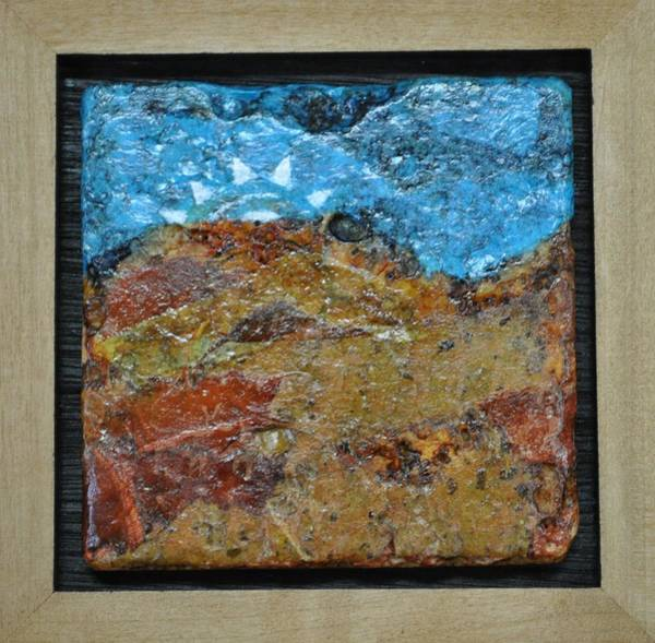 Zion Mixed Media - Sun Peeking Over The Rocks by Donna Ryan