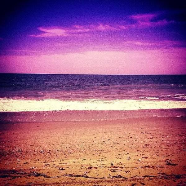 Sea Photograph - #sun #salt #sand #sky #wave #water by Katie Williams