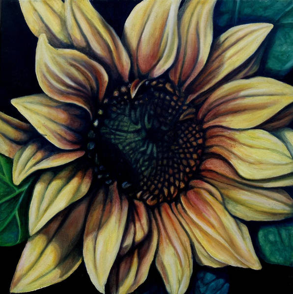 Wall Art - Painting - Sunburst by Lorraine Davis Martin