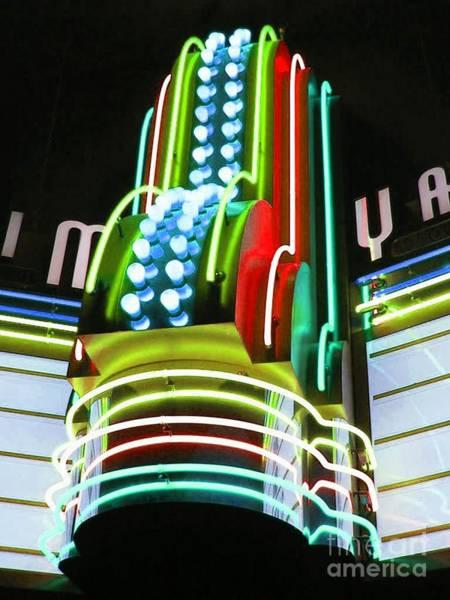 Mixed Media - Sunday Matinee Lights by Jerry L Barrett