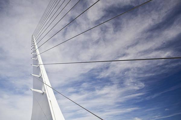 Wall Art - Photograph - Sundial Bridge At Turtle Bay by Bryan Mullennix