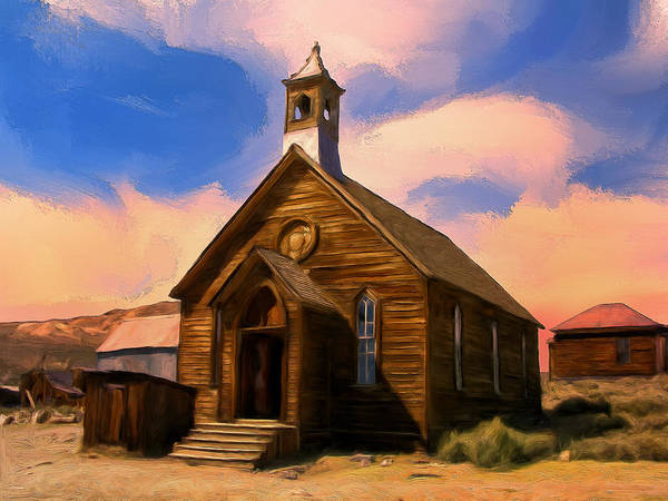 Bodie Painting - Sundown by Dominic Piperata