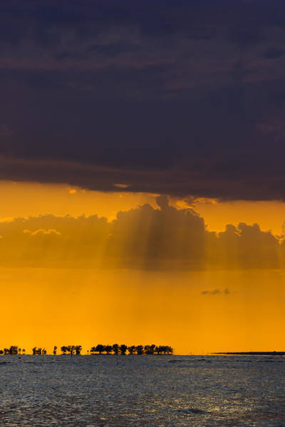 Photograph - Sundown Over Sanibel by Ed Gleichman