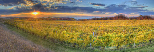 Traverse City Photograph - Sunet From Old Mission by Twenty Two North Photography