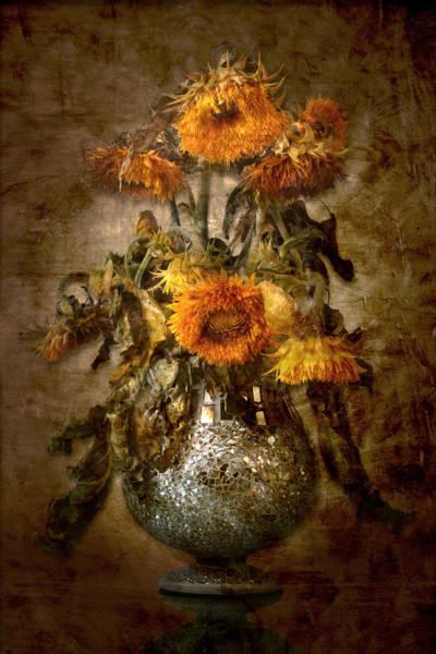 Photograph - Sunflowers by Marc Huebner