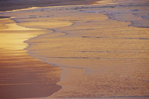 Noosa Wall Art - Photograph - Sunlight Reflected On An Ebbing Tide by Jason Edwards