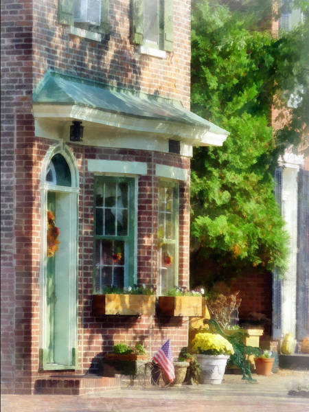 Photograph - Sunny Afternoon New Castle De by Susan Savad