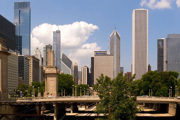 Photograph - Sunny Chicago by Frank Winters
