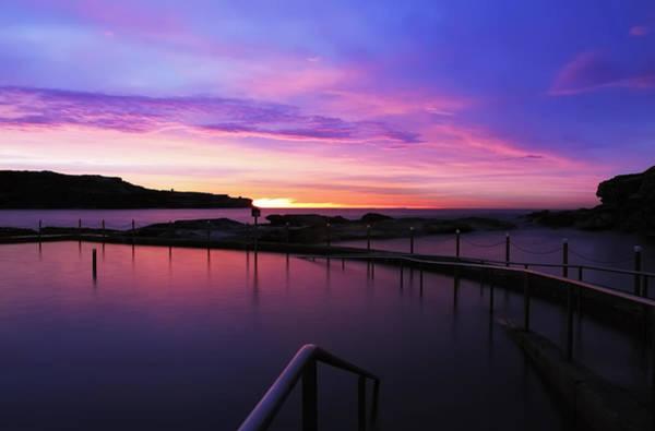 Photograph - Sunrise - Malabar Baths by Mark Lucey