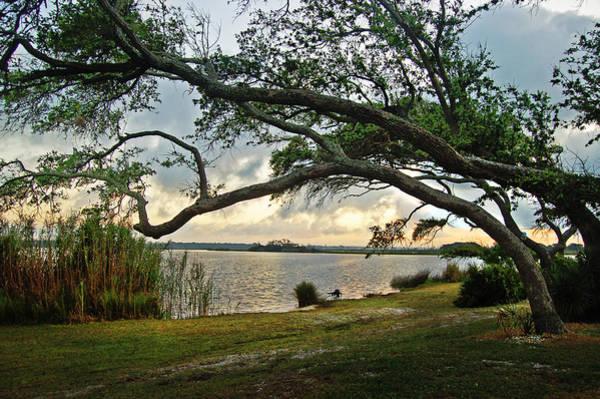 Digital Art - Sunrise Across The Lagoon by Michael Thomas