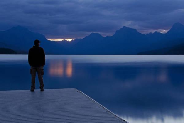 Photograph - Sunrise At Apgar by Darlene Bushue