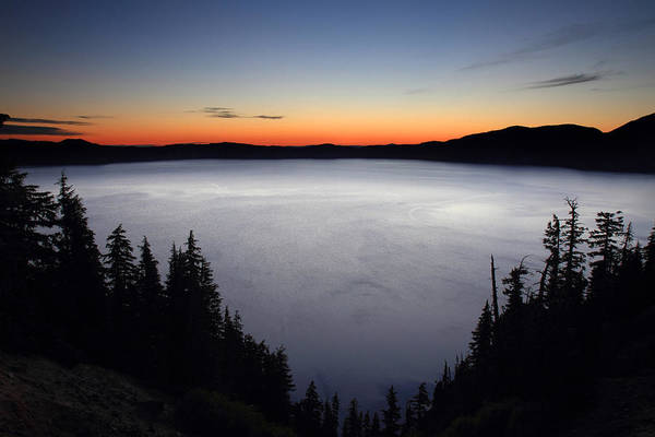 Photograph - Sunrise At Crater Lake National Park by Pierre Leclerc Photography