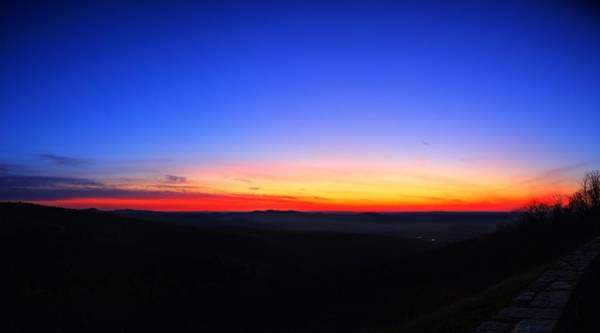 Photograph - Sunrise At Skyline Drive by Metro DC Photography