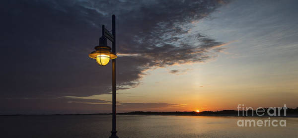 Lewes Photograph - Sunrise By Lamplight by John Greim