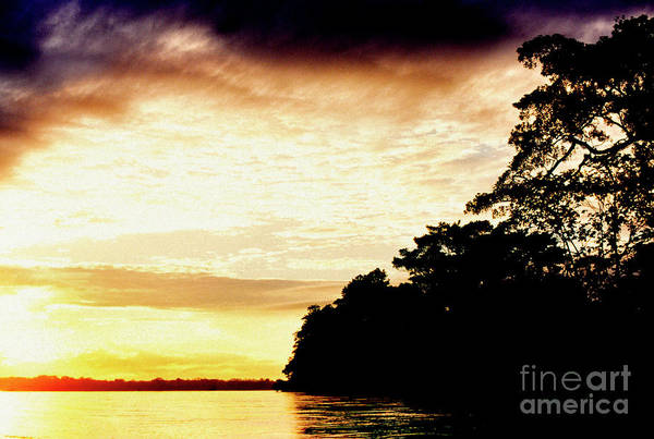 Photograph - Sunrise On The Napo River by Thomas R Fletcher