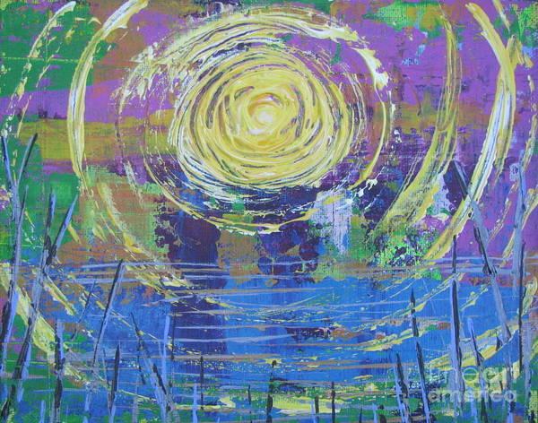 Painting - Sunrise Sunset 5 by Jacqueline Athmann