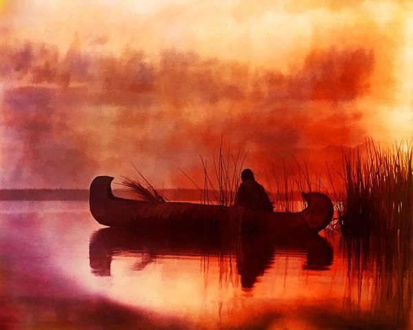 Digital Art - Sunrising by Rick Wicker