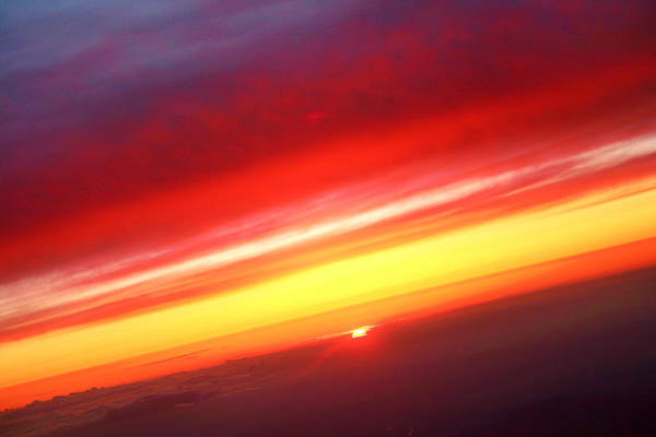 Photograph - Sunset Above The Clouds by James BO Insogna