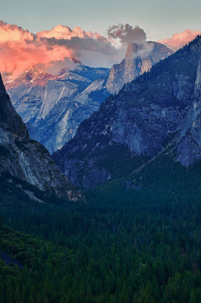 Photograph - Sunset At Half Dome by Rick Berk