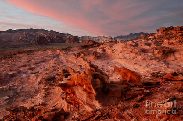 Goblin Valley State Park Photograph - Sunset At Liitle Finland by Bob Christopher